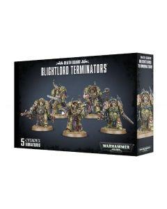 Warhammer 40k: Death Guard: Blightlord Terminators