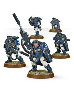 Warhammer 40k: Space Marine Scouts With Sniper Rifles