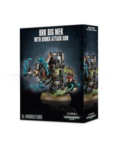 Warhammer 40k: Orks: Big Mek With Shokk Attack Gun