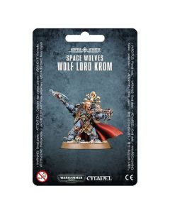 Warhammer 40k: Space Wolves Wolf Lord Krom