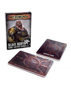 Necromunda: Slave Ogryn Gang Tactics Cards