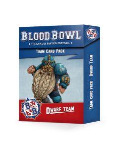Blood Bowl: Team Card Pack: Dwarf Team
