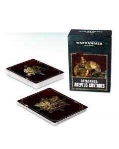 Warhammer 40k: Datacards: Adeptus Custodes