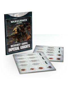Warhammer 40k: Datasheet Cards: Imperial Knights