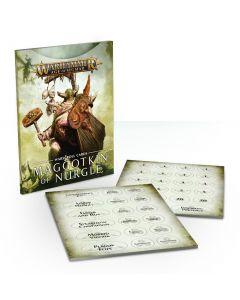 Warhammer AoS: Maggotkin of Nurgle: Warscroll Cards
