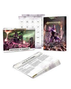 Warhammer AoS: Hedonites of Slaanesh:  Warscroll Cards