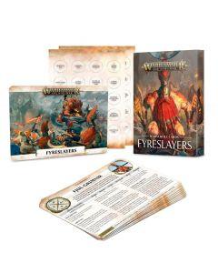 Warhammer AoS: Fyreslayers: Warscroll Cards