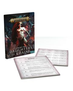 Warhammer AoS: Daughters of Khaine: Warscroll Cards