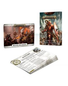Warhammer AoS: Beasts of Chaos: Warscroll Cards