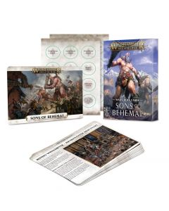 Warhammer AoS: Sons of Behemat: Warscroll Cards