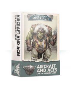 Aeronautica lmperialis: Aircraft and Aces Ork Air Waaagh! Cards