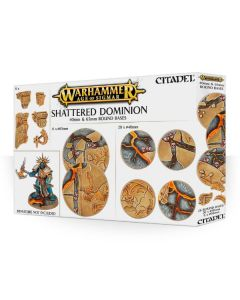 Warhammer AoS: Shattered Dominion: 65 & 40mm Round Bases
