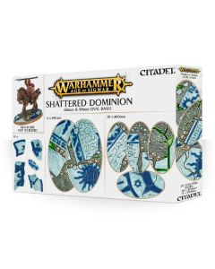 Warhammer AoS: Shattered Dominion: 60 & 90mm Oval Bases