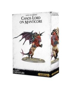 Warhammer AoS: Slaves to Darkness: Chaos Lord on Manticore