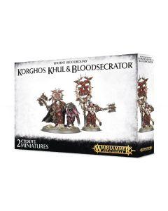 Warhammer AoS: Khorne Bloodbound: Korghos Khul & Bloodsecrator