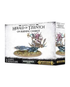 Warhammer: Daemons of Tzeentch: Herald of Tzeentch on Burning Chariot
