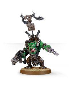 Warhammer 40k: Orks: Ork Warboss with Big Choppa