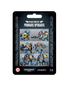 Warhammer 40k: Space Wolves: Primaris Upgrades