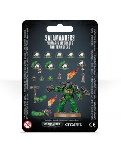 Warhammer 40k: Salamanders: Primaris Upgrades and Transfers