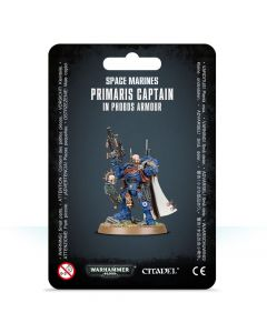 Warhammer 40k: Space Marines: Primaris Captain in Phobos Armour