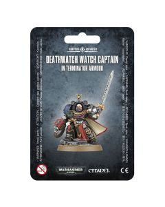 Warhammer 40k: Deathwatch: Watch Captain in Terminator Armour