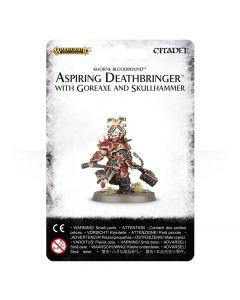 Warhammer AoS: Khorne Bloodbound: Aspiring Deathbringer with Goreaxe