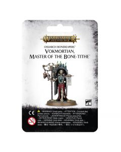 Warhammer AoS: Ossiarch Bonereapers: Vokmortian, Master of the Bone-tithe