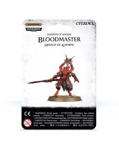 Warhammer: Daemons of Khorne: Bloodmaster, Herald of Khorne
