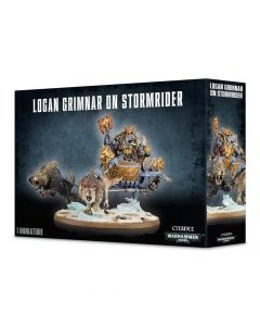 Warhammer 40k: Space Wolves: Logan Grimnar on Stormrider