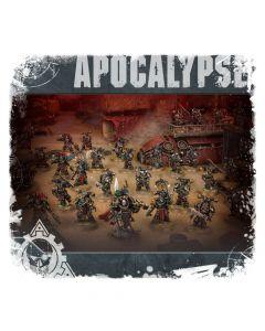 Warhammer 40k: Apocalypse: Chaos Space Marines Battalion Detachment