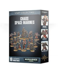 Warhammer 40k: Start Collecting! Chaos Space Marines (2019)