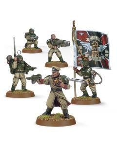 Warhammer 40k: Cadian Command Squad