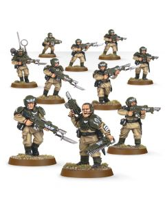 Warhammer 40k: Astra Militarum: Cadian Infantry Squad