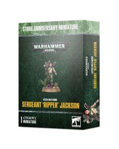 Warhammer 40k: Astra Militarum: Sergeant 'Ripper' Jackson
