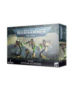 Warhammer 40k: Necrons: Ophydian Destroyers
