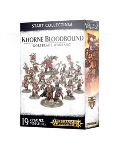 Warhammer AoS: Start Collecting! Khorne Bloodbound Goreblade Warband