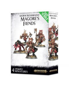 Warhammer AoS: Khorne Bloodbound: Easy To Build Magore's Fiends