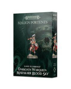 Warhammer AoS: Slaves to Darkness: Darkoath Warqueen Marakarr Blood-sky