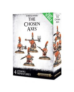 Warhammer AoS: Fyreslayers: Easy To Build The Chosen Axes