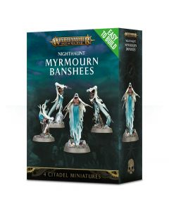 Warhammer AoS: Nighthaunt: Easy to Build Myrmourn Banshees