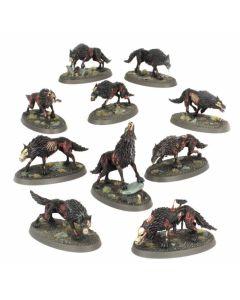 Warhammer AoS: Soulblight Gravelords: Dire Wolves
