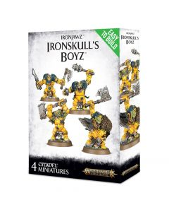 Warhammer AoS: Ironjawz: Easy To Build Ironskull's Boyz