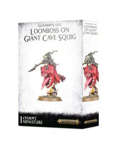 Warhammer AoS: Gloomspite Gitz: Loonboss on Giant Cave Squig