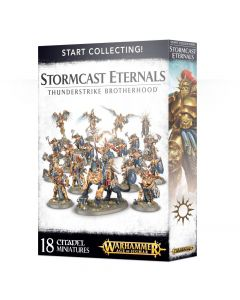 Warhammer AoS: Start Collecting! Stormcast Eternals Thunderstrike Brotherhood