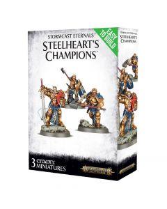 Warhammer AoS: Stormcast Eternals: Easy To Build Steelheart's Champions