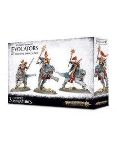Warhammer AoS: Stormcast Eternals: Evocators on Celestial Dracolines