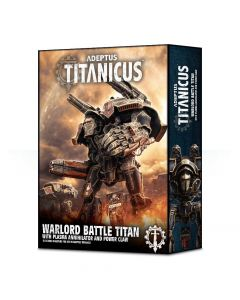 Adeptus Titanicus: Warlord Battle Titan With Plasma Annihilator and Power Claw