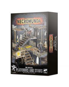 Necromunda: Zone Mortalis: Platforms and Stairs