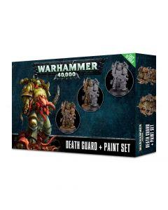 Warhammer 40k: Death Guard + Paint Set