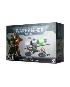 Warhammer 40k: Necrons: Warriors + Paints Set